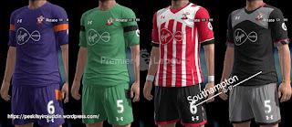 Kits Southampton 2016-2017 Pes 2013