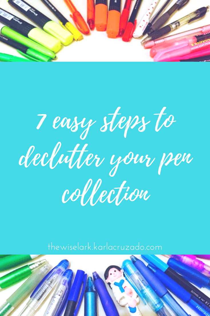 Declutter Pens