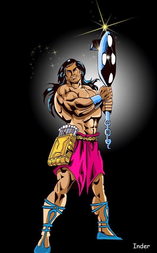 Yoddha Poster Raj Comics