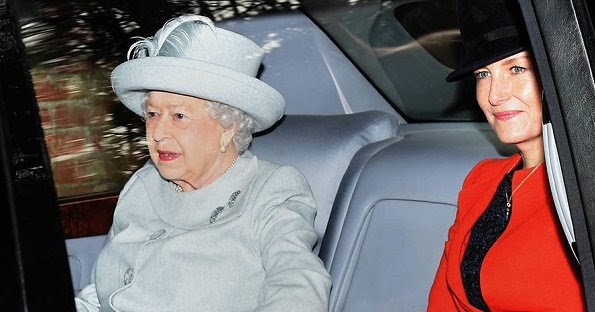 The Royal Family Attended Christmas Eve Carol Service   Newmyroyals & Hollywood Fashion