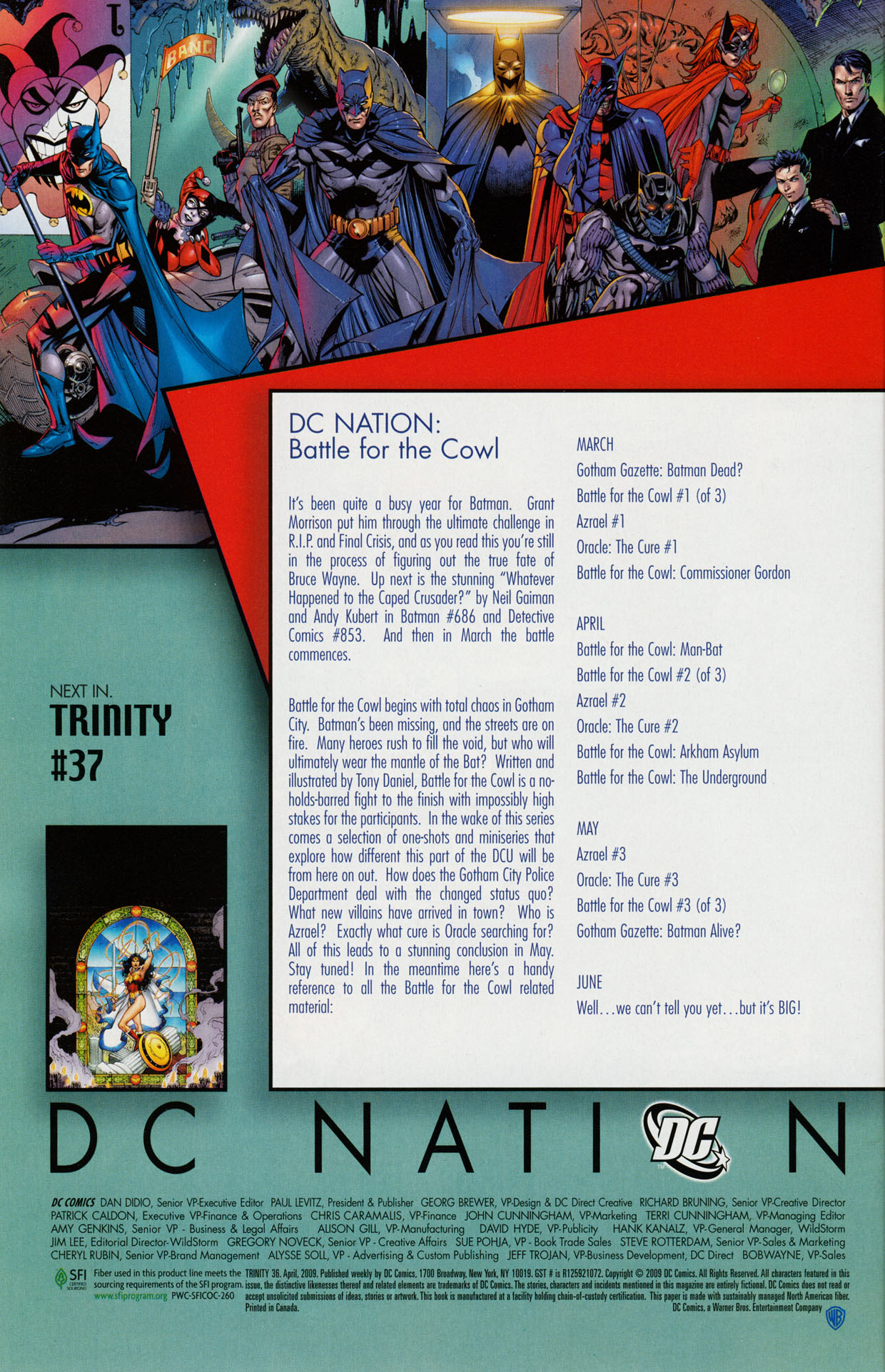 Read online Trinity (2008) comic -  Issue #36 - 31