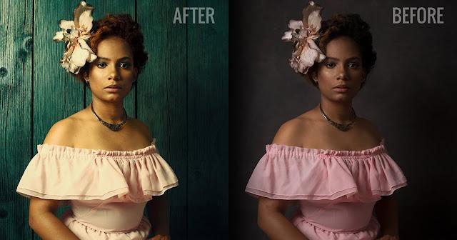 Как поменять фон в Фотошопе с помощью режимов наложения