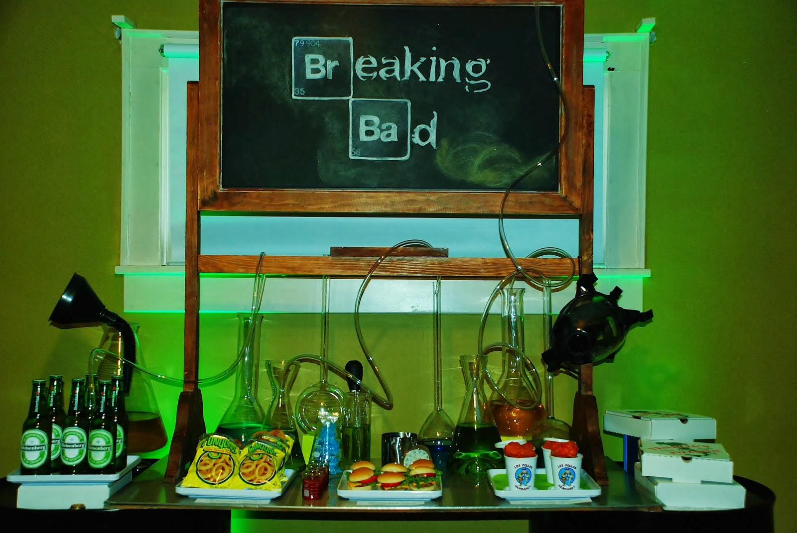 Setting The Mood Breaking Bad Series Finale Party