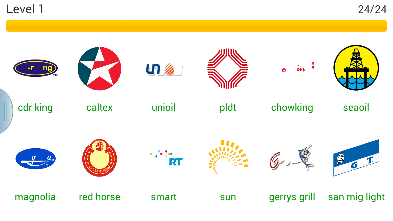 Word Quiz Geek: Logo Quiz Philippines Level 1