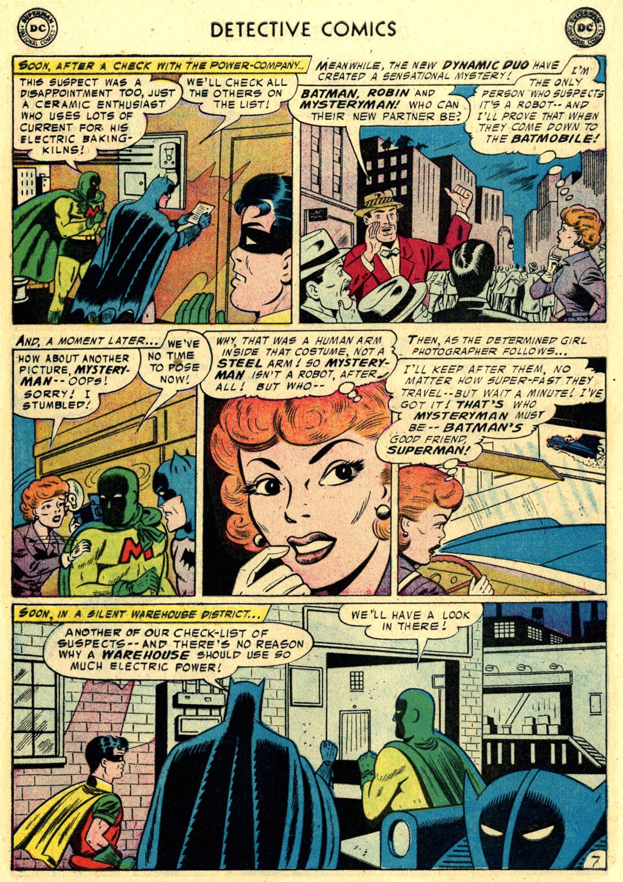 Read online Detective Comics (1937) comic -  Issue #245 - 9