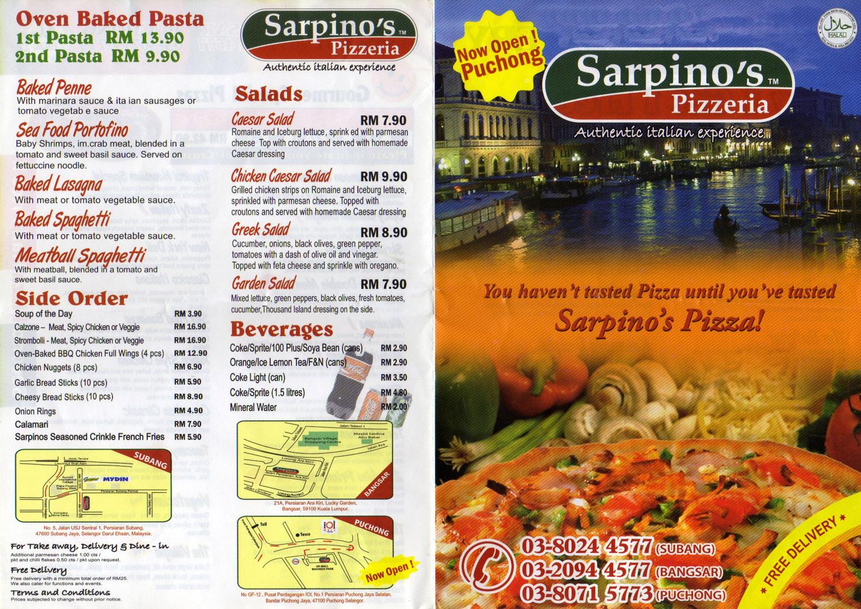 Sarpino's coupons