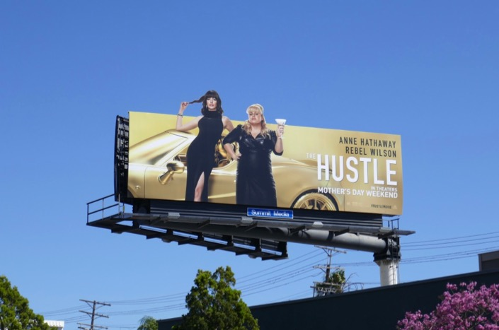 Hustle extension billboard