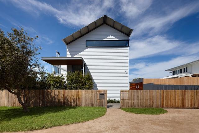 Уютный пляжный домик в городке Маршалл, Австралия
