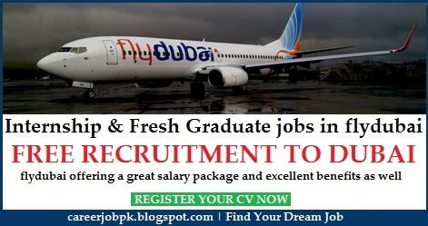 Internship & Fresh Graduate jobs in flydubai