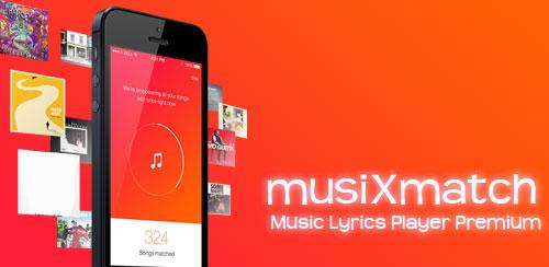 Musixmatch Lyrics app