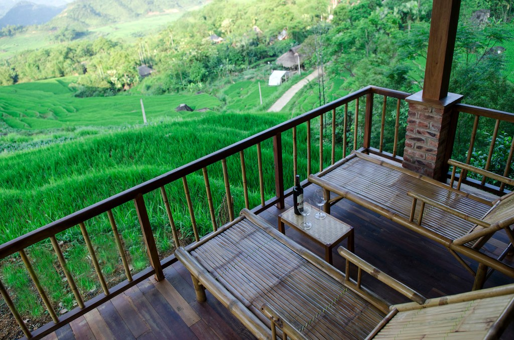 Puluong Retreat homestay: view from your room will be like this!
