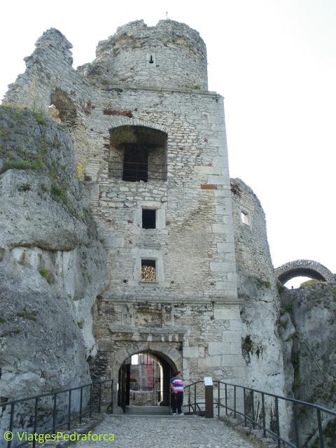 Zamek Ogrodzieniec, la Ruta dels Nius d'Àguila, Polònia medieval, castells encantats, fantasmes, castells medievals, els millors castells d'Europa