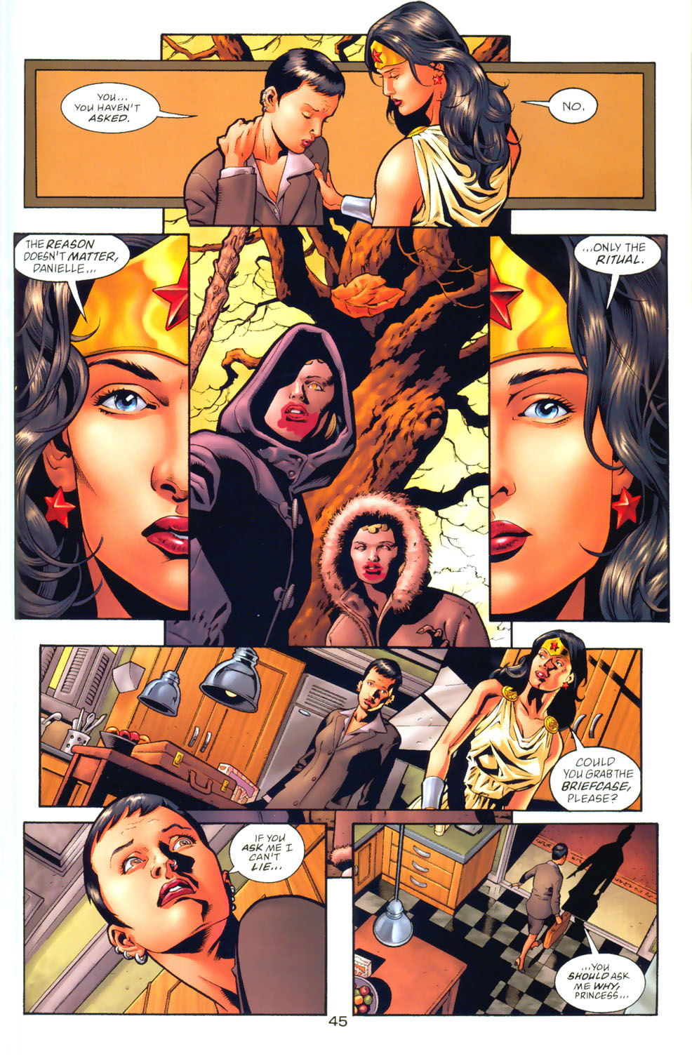Read online Wonder Woman: The Hiketeia comic -  Issue # Full - 53