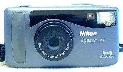 Nikon Zoom 310 AF QD, Front
