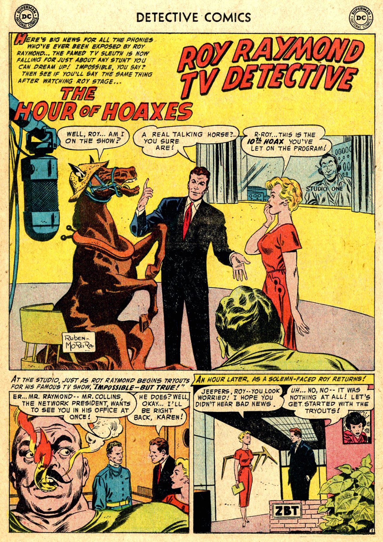 Read online Detective Comics (1937) comic -  Issue #235 - 16