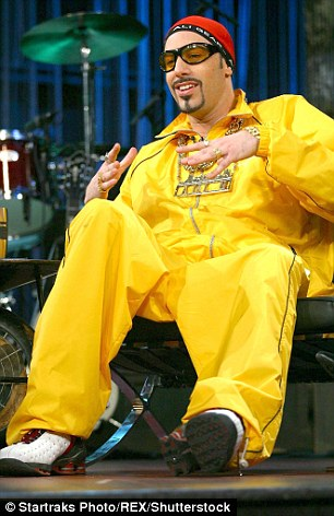 Ali G yellow shellsuit athleisure