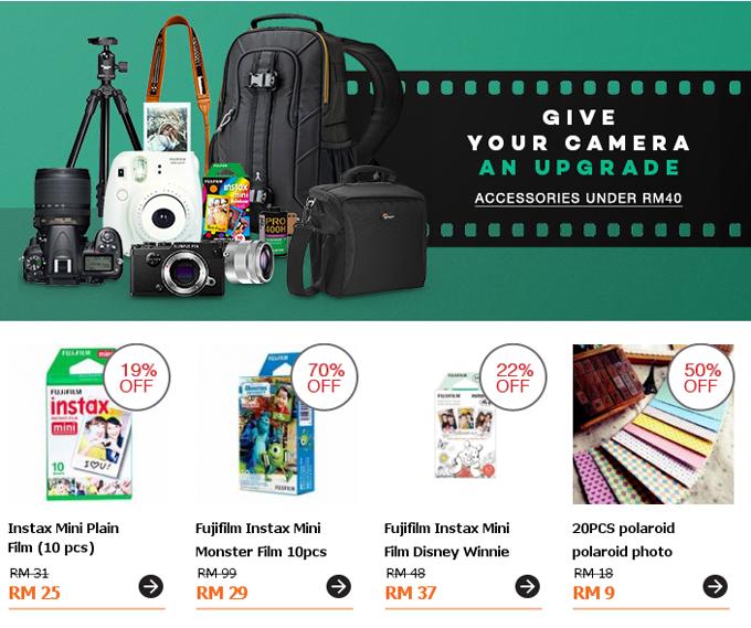 Jualan Aksesori Kamera Bawah RM40 Online Shopping Malaysia