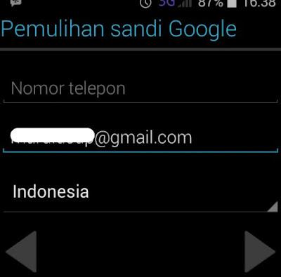 Cara membuat mail google (gmail) tanpa nomor hp/telepon