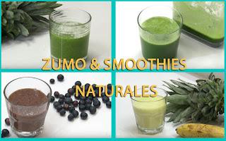zumo y smoothies naturales