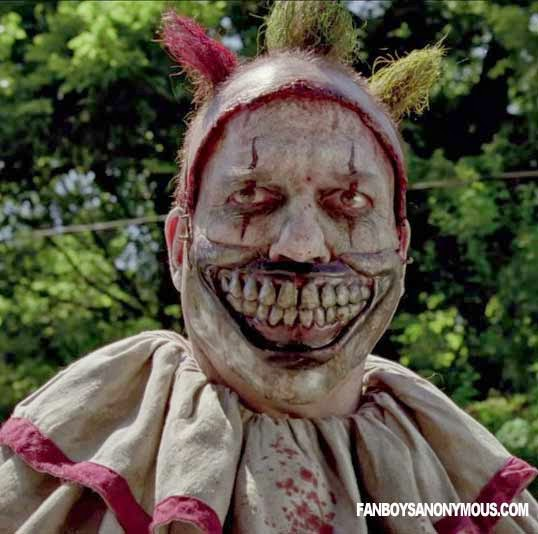 Twisty Clown AHS Freaks Freak Show Killer Villain Scary TV