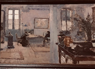 The Hermitage Museum's oil on card by Edouard Vuillard, entitled 'In a Room', 1898