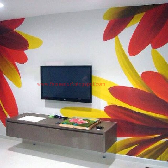 Wall Painting Designs Pictures For Living Room In Nigeria