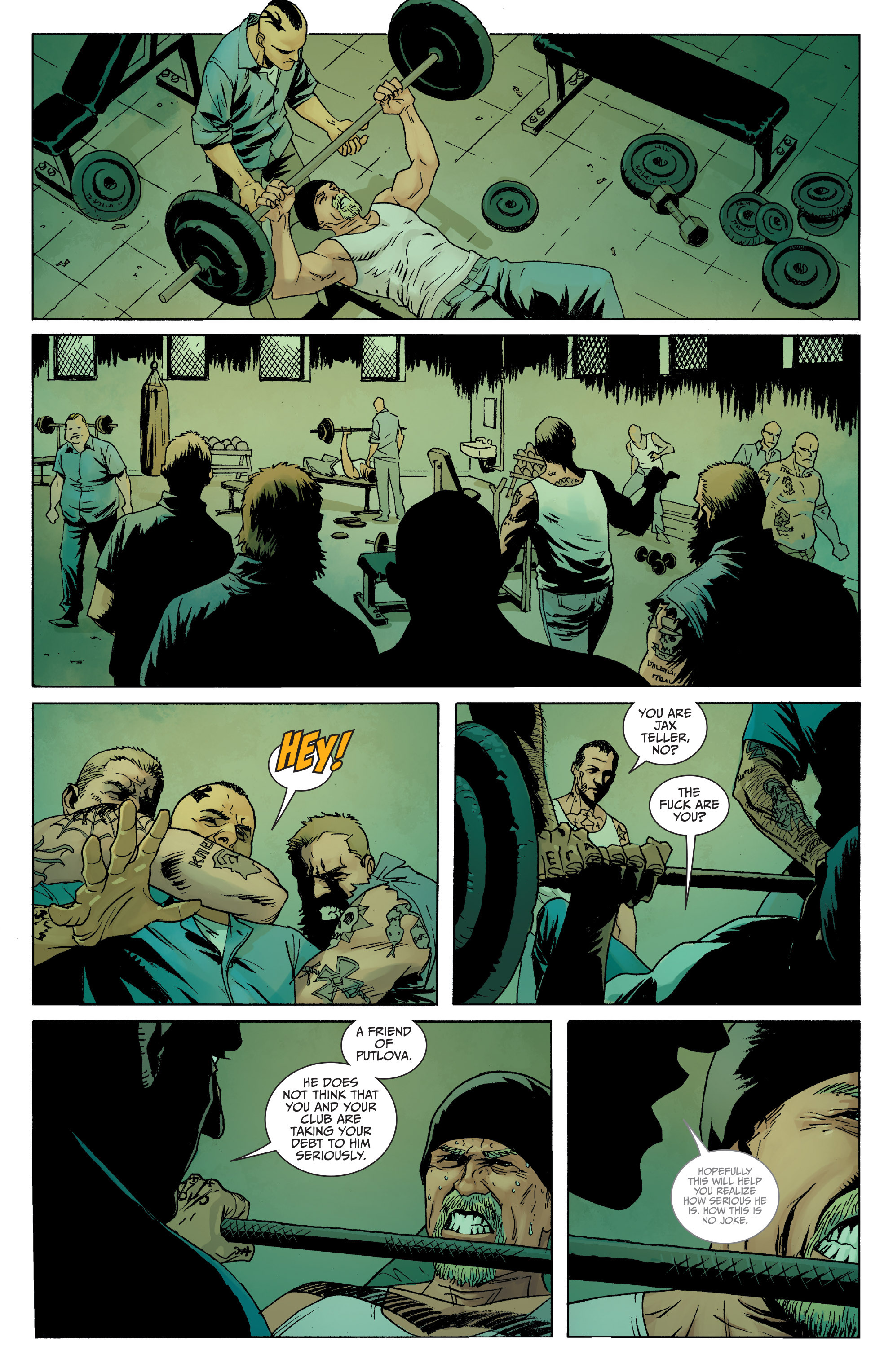 Read online Sons of Anarchy comic -  Issue #8 - 9