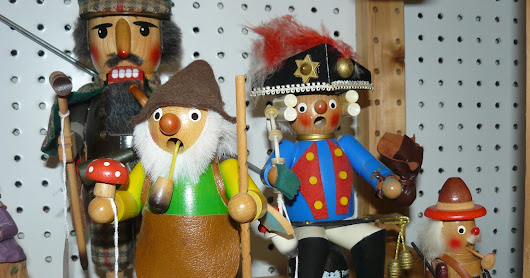 German & West German Smokers & Nutcrackers, Scranberry Coop Antique Store