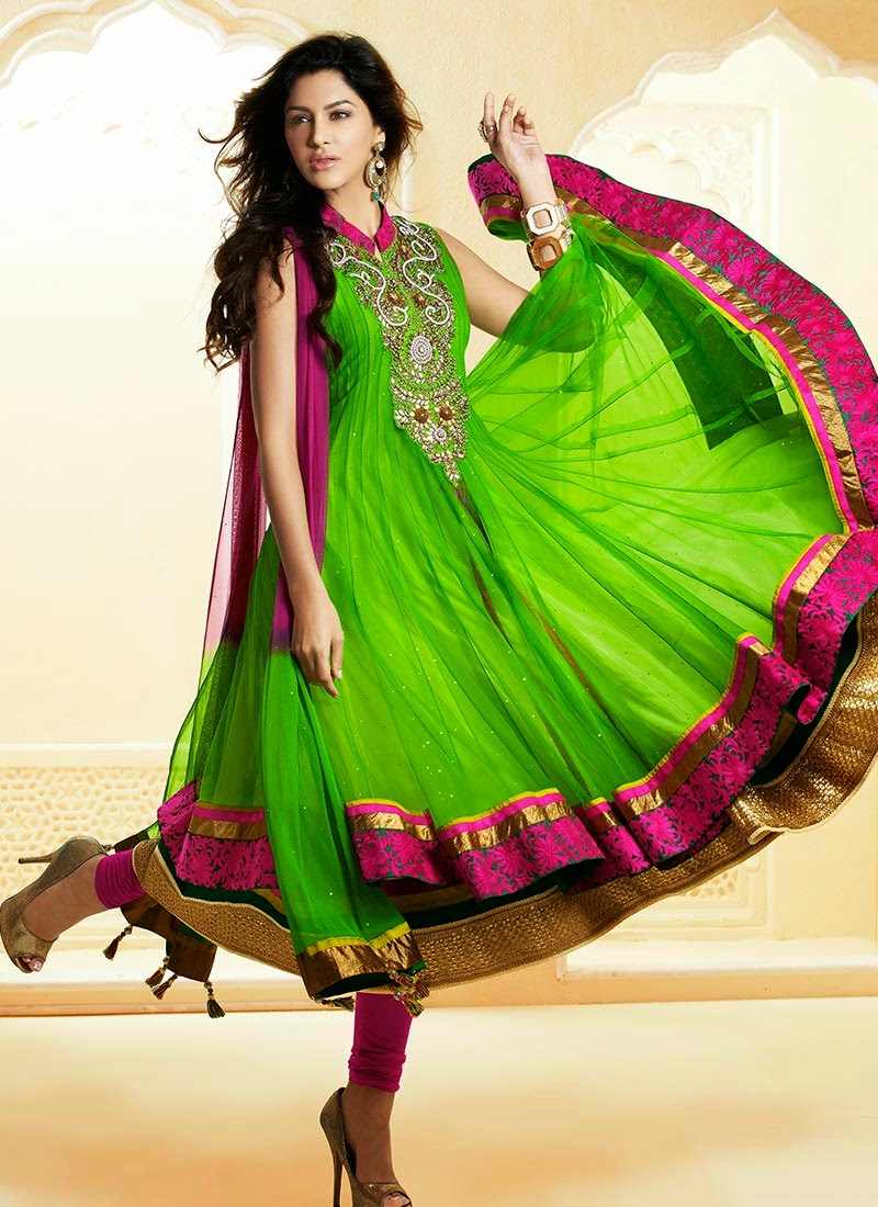 Latest Anarkali Frock Suits Designs - Latest Fashion Today