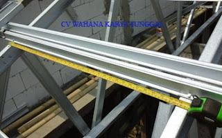 jasa pemasangan baja ringan di depok teknik dasar cara rangka atap ...