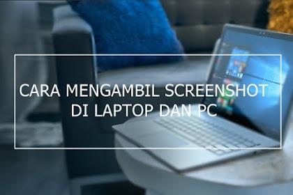 4 Cara Screenshot di Laptop dan PC dengan Mudah