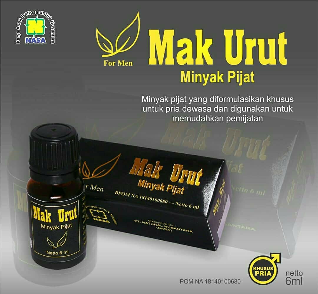 mak urut minyak pijat khusus lelaki stokis nasa indonesia