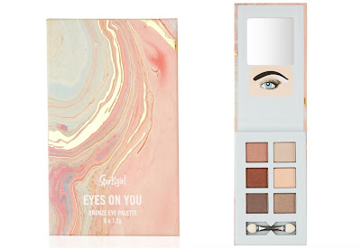 Eyes On You Pink Marble Eyeshadow Palette