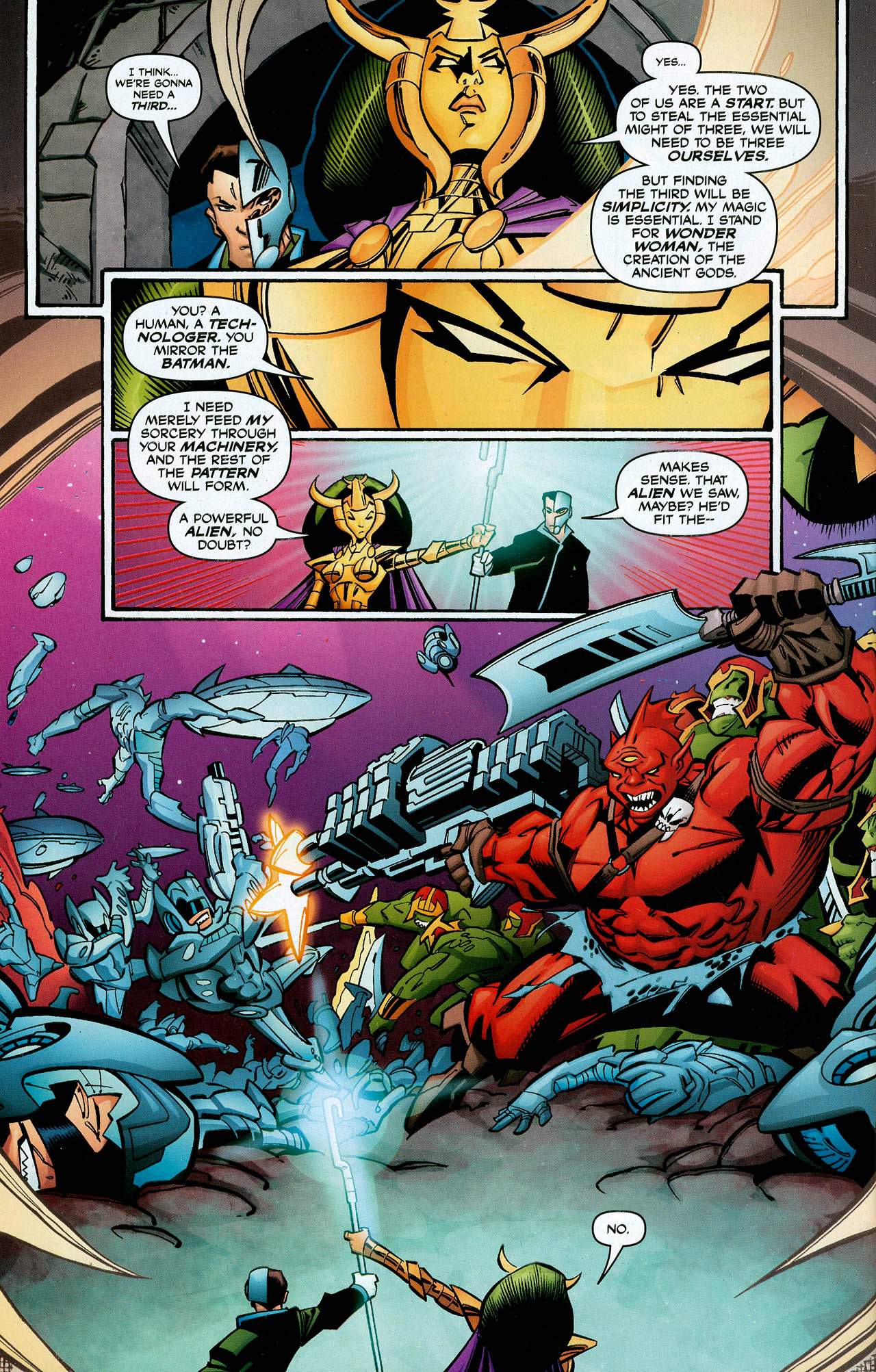Read online Trinity (2008) comic -  Issue #1 - 35