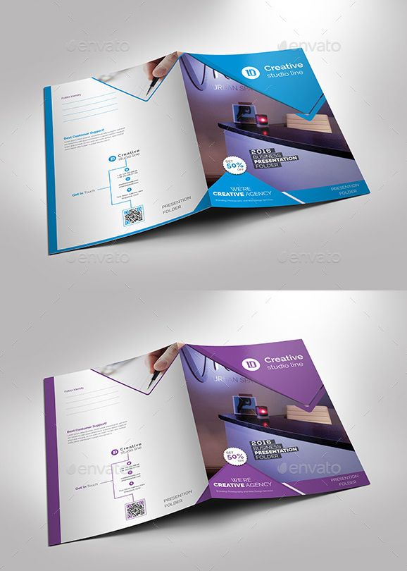 40 presentation folder templates for any business designsmag 3 presentation folder template wajeb Image collections