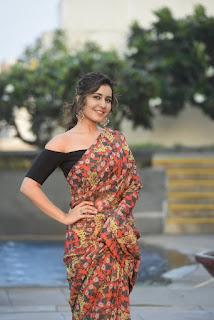 Actress Raashi Khanna Latest HD Photos, Raashi Khanna In Saree!