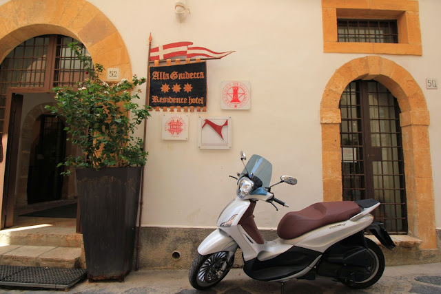 Scooter Ortigia Sicily Italy Photo Diary Uk Blogger Iga Berry