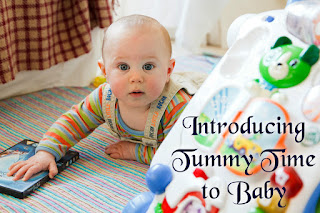 Introducing Tummy Time to Baby