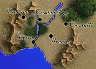 Mapas rol mundo continente 2