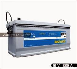 inci akü formul a super heavy duty serisi 12 volt 225 amper