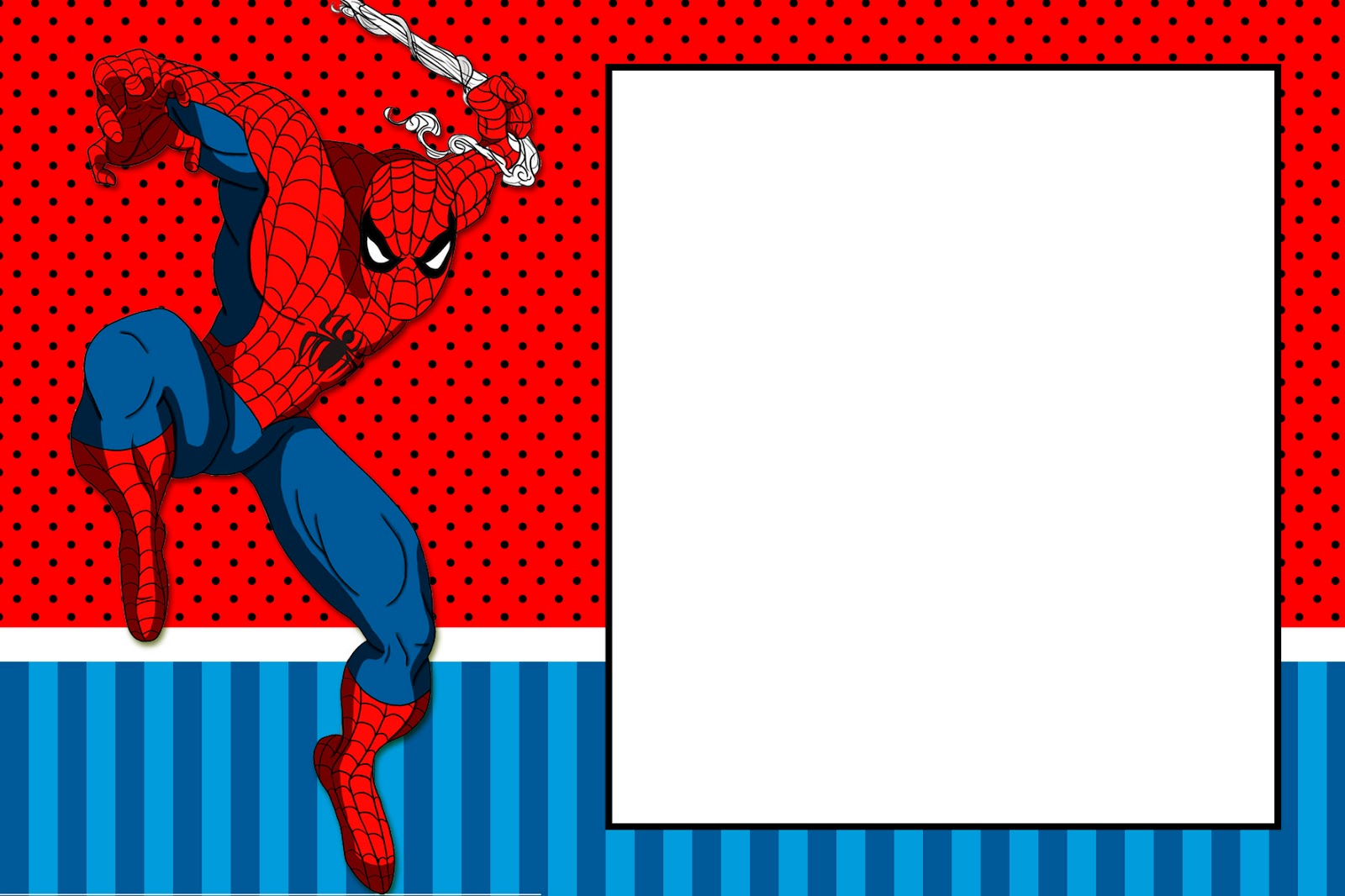 Spiderman Party: Free Printable Invitations. - Oh My Fiesta! for Geeks