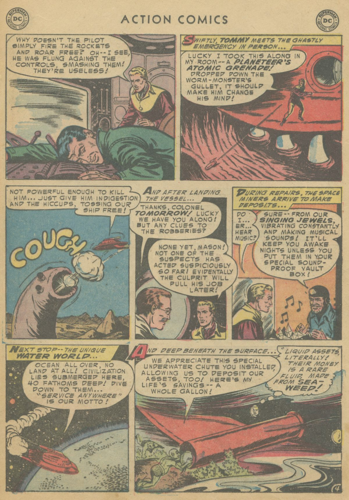 Read online Action Comics (1938) comic -  Issue #199 - 21