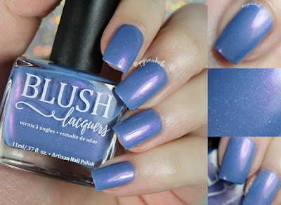 Blush Lacquers My Beach Umbrella Ella Ella | Beach Bunny Collection