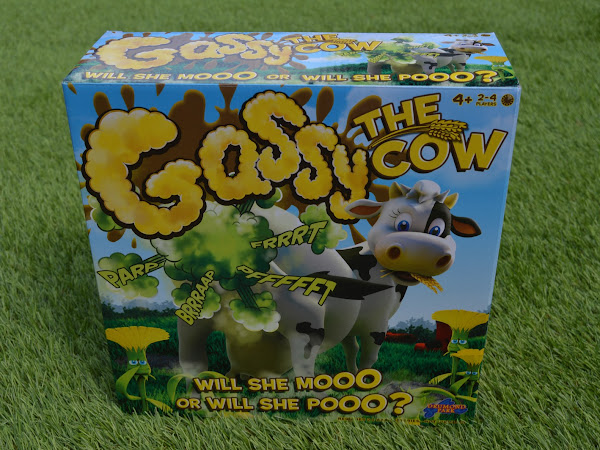 Review & Giveaway - Gassy The Cow From Drumond Park