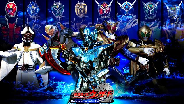 Kamen Rider Wizard merupakan kamen rider ke -15 di era heisei, bertemakan sihir, kamen rider ini menggunakan cincin untuk henshin.