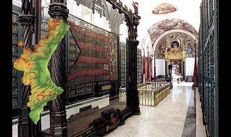 Real Senyera del Reino de Valencia