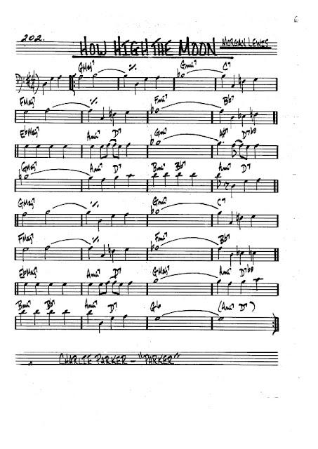 Partitura Trombón Morgan Lewis