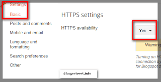 turn on HTTPS on blogger blogspot free, enable https for blogger blogspot free , http to https, free ssl certifiacate