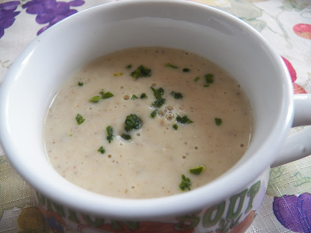 Onion Veloute Soup