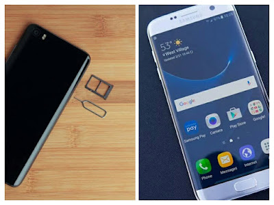 Xiaomi Mi5 Vs Samsung Galaxy S7'